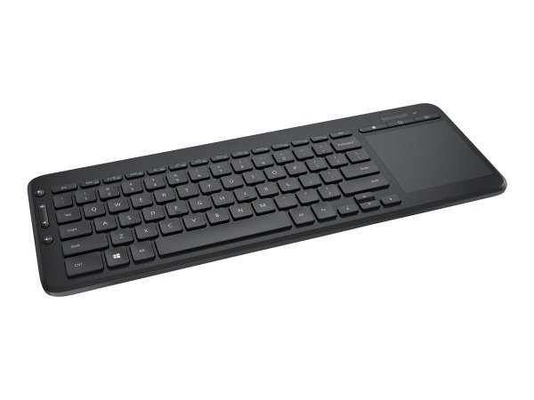 Microsoft All-in-One Media Keyboard mit integriertem Multi-Touch Trackpad
