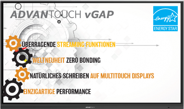 "ADVANTouch Display 86"" VGAP"