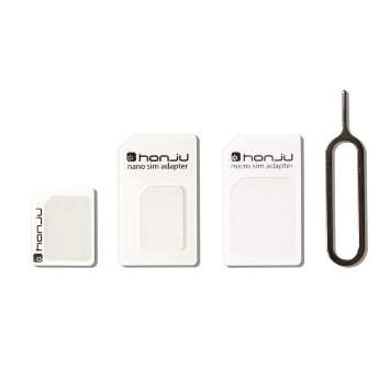 honju nano SIM-Adapter-Set All-in-1 und Öffnungstool